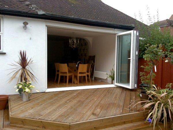 bifolding patio doors in surrey