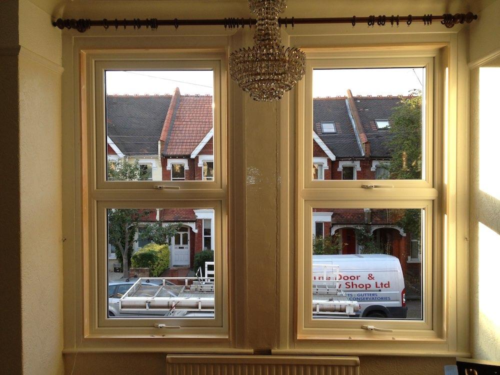UPVC box sash windows in Surrey