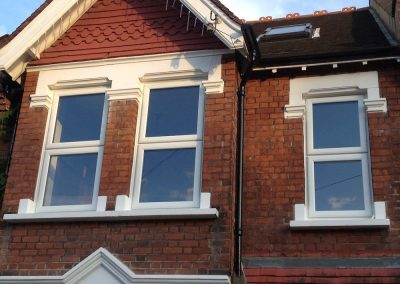 UPVC box sash windows in Surrey